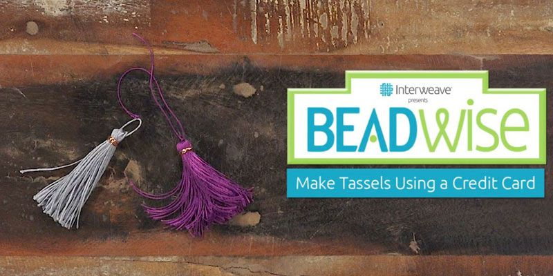 BeadWise Video: How-To Make an Easy Tassel!