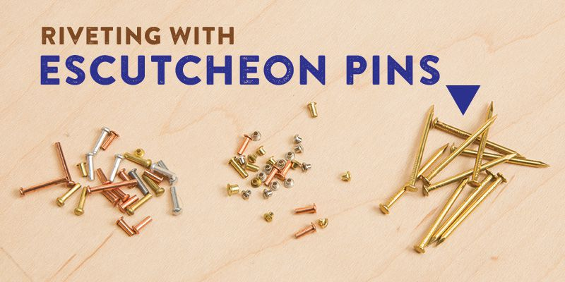 Exploring Metal Jewelry: Riveting With Escutcheon Pins