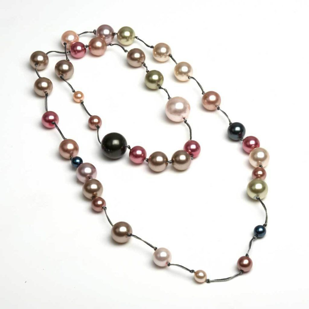 Knotted Necklace by Tamara Honaman