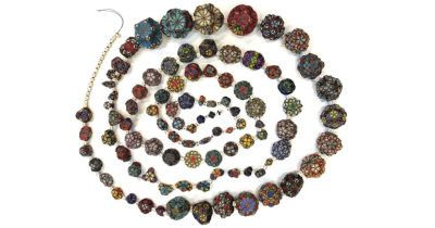 Johnson Solids beaded beads on a string of 92 shapes