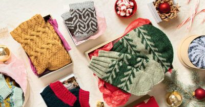 Projects from Interweave Knits Gifts 2021