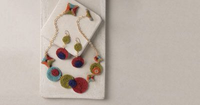 Mitzi Midcentury Necklace by Kim Leahy