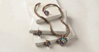 Queen of Atlantica Necklace beading necklace and earring pattern