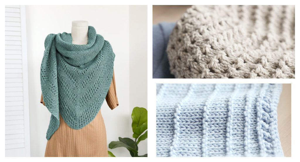 Summer knitting projects from Quick + Easy Knits Vol. 2