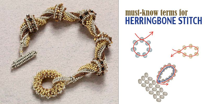 Must-Know Terms for Bead Weaving Herringbone Stitch
