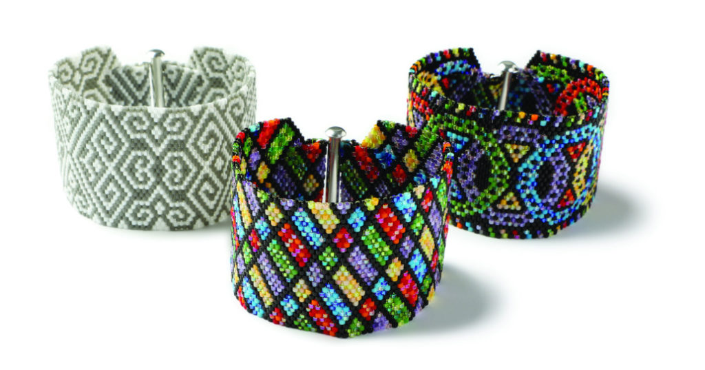 Polychromatic Cuffs by Nicole Vogt