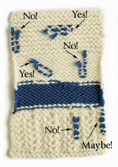 Finishing Knitting Techniques: How to Weave in Ends