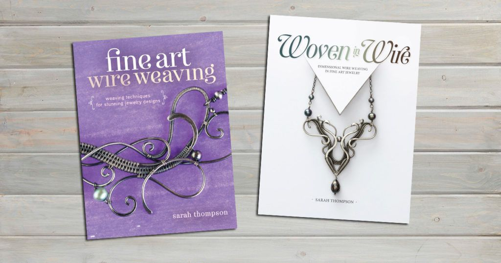 wire weaving with Sarah Thompson