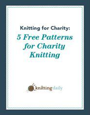 You'll love these free knitting patterns for charity from a knitted baby blanket to a hat and everything in between.