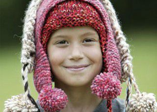 Learn how to knit these earflap hats that are perfect for charity knitting.