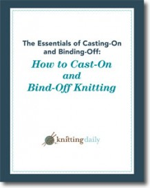 Free download on how to cast on and how to bind off in knitting!