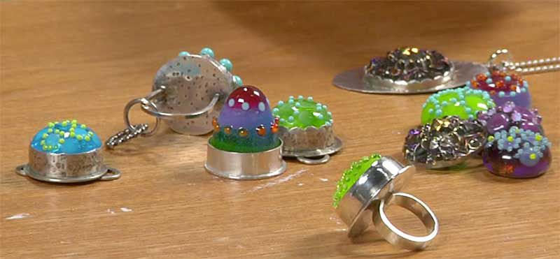 Jewelry Making: In the Studio with Torches and Fuel, lampwork, Cassie Donlen