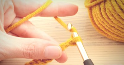 learning how to crochet