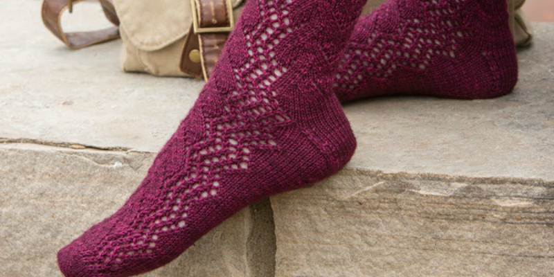 Learn how to knit socks that fit right.