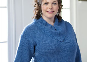 Knitting Short Row Pattern with this sweater pattern.