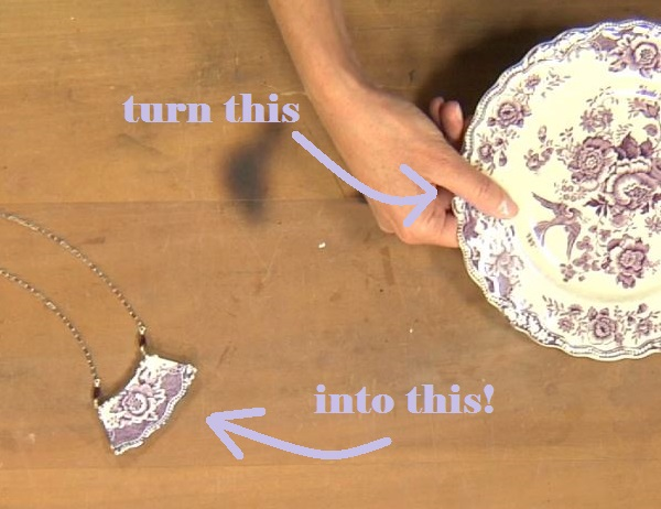 Learn how to turn a plate into jewelry using low-temp soldering techniques!