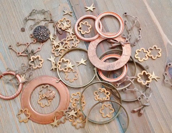Metal Stampings Craft Supply Jewelry